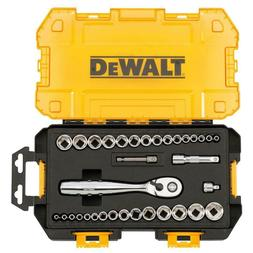 DEWALT 1/4 in. and 3/8 in. Drive Socket Set