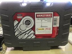 "CRAFTSMAN 10-PIECE 3/8"" DRIVE 6-PT. METRIC SOCKET WRENCH SET"