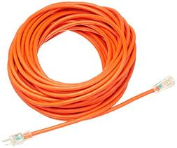 AmazonBasics 12/3 SJTW Heavy-Duty Lighted Extension Cord - 1
