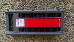 "CRAFTSMAN 12 PC LASER IMPACT SOCKET ACCESSORY SET 1/2"" DRIVE"
