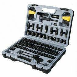 Stanley 123-piece Black Chrome Socket Set STMT72254W