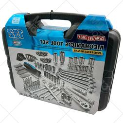 132 Pc Mechanic's Tool Set Professional Metric/SAE Channello