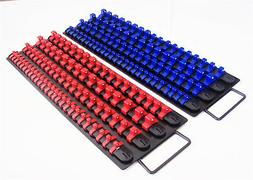 160pc GOLIATH INDUSTRIAL SOCKET STORAGE TRAY RAIL RACK HOLDE