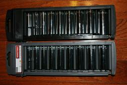 "Craftsman 18-PC 3/8"" Drive 12-pt Inch/Metric Deep Socket Set"
