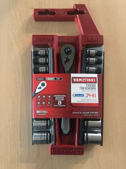 Craftsman 19 pc. Universal 1/4-in. Dr. Socket Wrench Set Fas