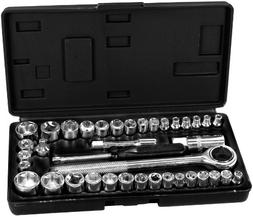 Performance Tool 1950 40-Piece Socket Set