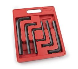 TEKTON Jumbo Hex Key Wrench Set, Metric, 8 mm - 19 mm, 6-Pie