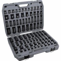 3/8 and 1/2 Drive Combo Standard and Deep Socket Set