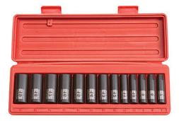 3/8 Drive 6-Point 7-19mm Deep Impact Socket Set