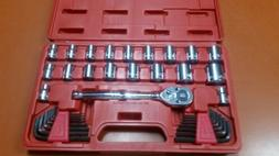 Crescent 3/8 Drive SAE/Metric Socket Wrench Set with Allen W