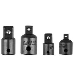 "4-pack 3/8"" to 1/4"" 1/2 inch Drive Ratchet Socket Adapter Re"