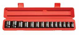 "Tekton 4817 1/2"" Drive Shallow Impact Socket Set 11-32Mm Met"