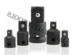 5pc impact socket adapter and reducer cr
