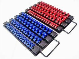 98pc GOLIATH INDUSTRIAL SOCKET STORAGE TRAY RAIL RACK HOLDER