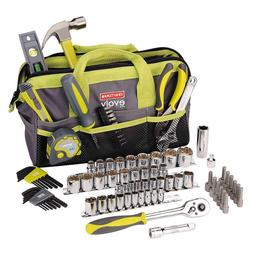 NEW Craftsman Evolv 83 pc Homeowner Tool Set w Bag 41283 Rat