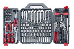 Auto Mechanics Tool Set With Box Wrenches Socket Ratchet Scr