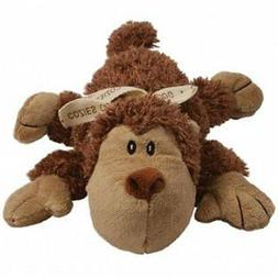KONG Cozie Spunky the Monkey, Medium Dog Toy, Brown