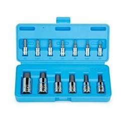 Capri Tools CP30002 S2 Hex Wrench Bit Socket Sets, Silver