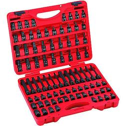 Sunex Tools 3569 84-Piece 3/8 in. Dr. Master Hex Bit Impact