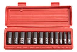 "Tekton 12Pc. 3/8"" Drive 6-Point Deep Impact Socket Set SAE-W"