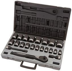 "1/2"" Drive 12 Point 22 Piece Fractional Duo Socket Set"