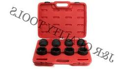 "8 pc 3/4"" Drive Jumbo Impact SAE Socket Set Tools"