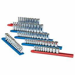 """Gearwrench 80318 71-pc 1/4"""" Drive Master Socket Set"""