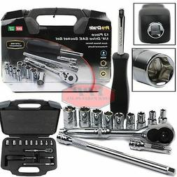 drive ratchet socket set wrench