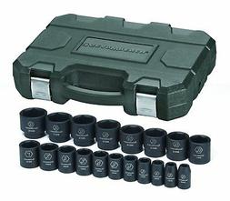 "GearWrench 84932N 1/2"" Drive SAE Impact Socket Set"