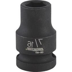 CHANNELLOCK Drive Shallow Metric Impact Socket