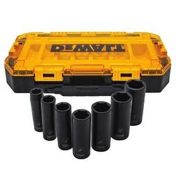 DEWALT-DWMT74736 Tough Box 7 pc. SAE 1/2 Drive Deep Impact S