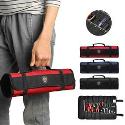 Handles Folding Roll Up Tool Bag for Torx Bit Socket Set Pou