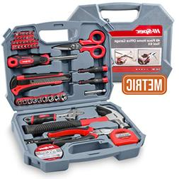 Hi-Spec 49 Piece Garage & Home Tool Kit with Low Vibration C