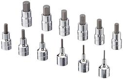 Blackhawk By Proto HW-9412MS Drive Metric Hex Bit Socket Set