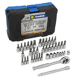 Kobalt 42-Piece Mixed Drive Hex, Torx, Phillips, Flathead Dr
