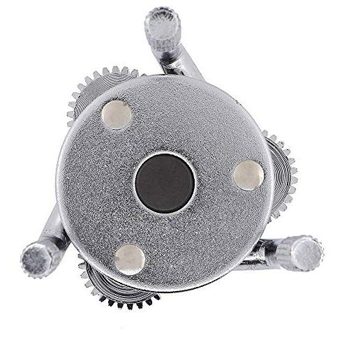 """Wadoy 3 Jaw Filter Round Removal Tool Dr&1/2"""" Adapter-Adjustable Claw Wrench"""