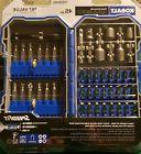 Kobalt 45pc Power Driving Set. Socket Attachments 1/4 And 3/