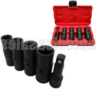 5PC DR. THIN WALL IMPACT SET FOR TIRES NUTS