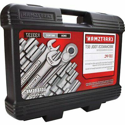 CRAFTSMAN Pieces Mechanics Tool Easy-to-Read