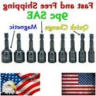 9pc SAE Magnetic Nut Driver Nut Setter for Power Drill Impac