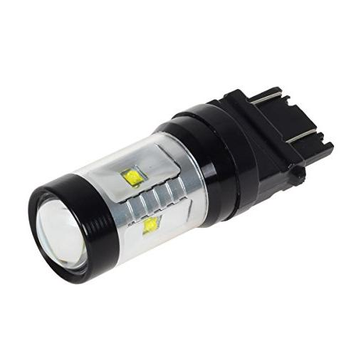 Partsam 1SET 4057 6-Cree-XB-D Genuine White 30W LED Replacement for Driving for GMC
