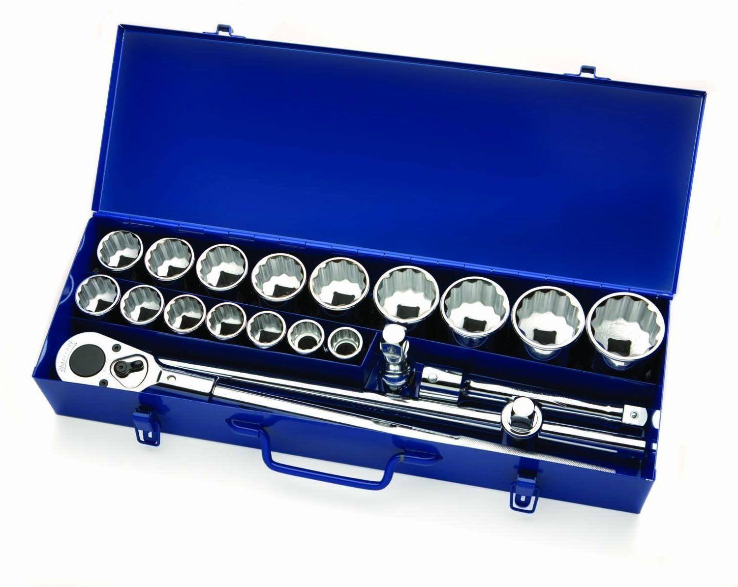 "Williams 33901 3/4"" Drive Socket Set in Box"