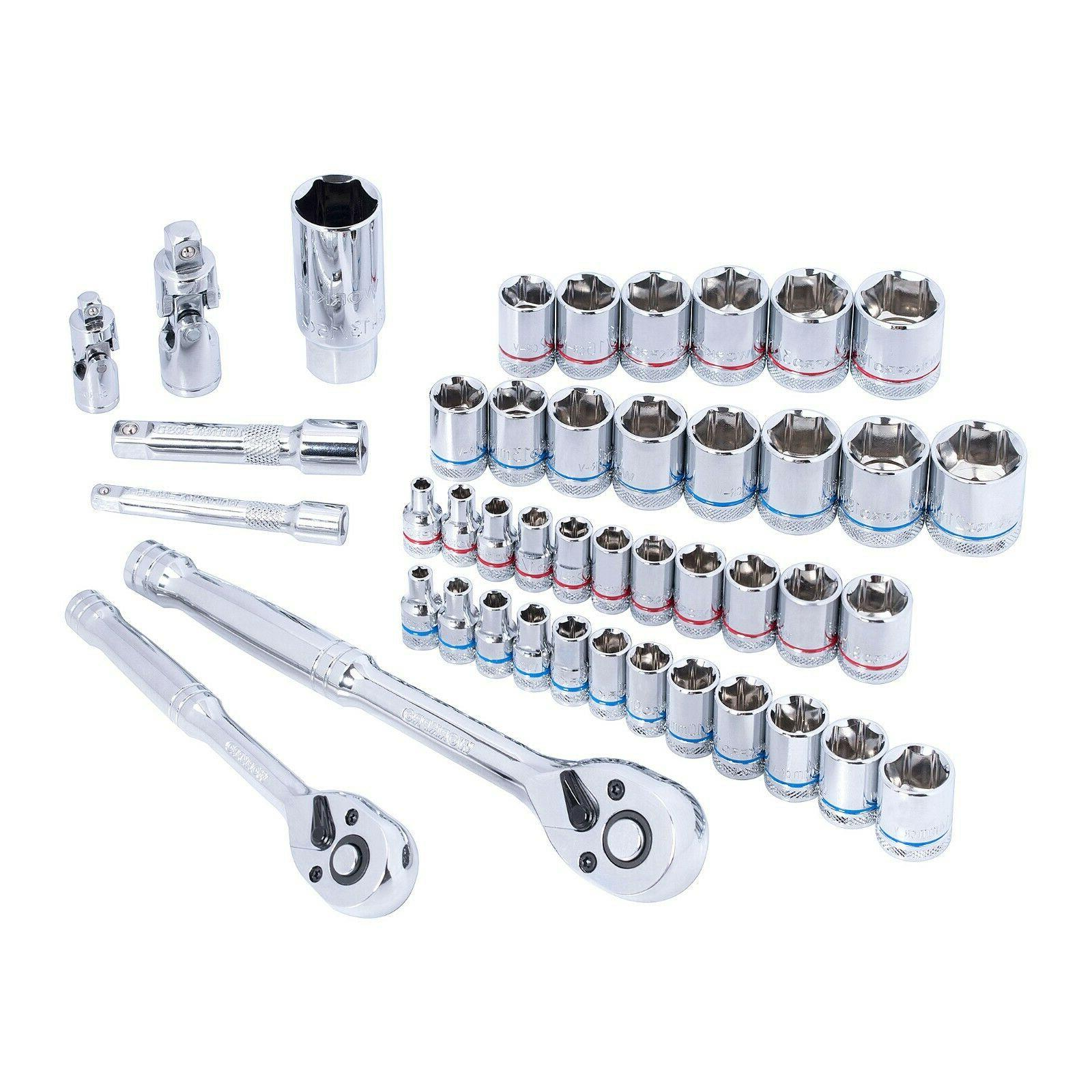 Drive Set 145 Pieces 1/4-inch Socket