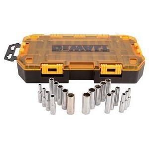 DEWALT DWMT73811 Tool Kit 1/4'' Drive Set, 20 Piece
