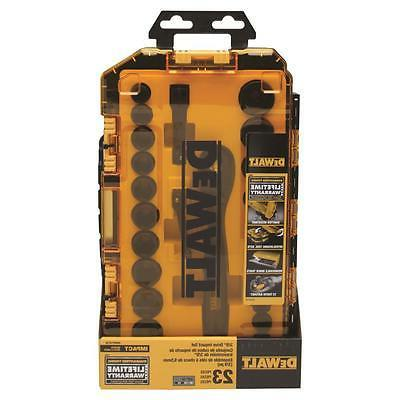 DEWALT-DWMT74738 Tough Box pc. 3/8 Socket Set