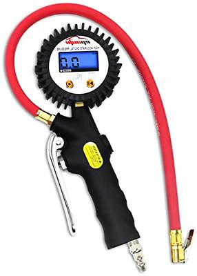 EPAuto Digital Tire Inflator with Pressure Gauge and Straigh