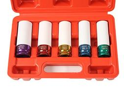 Lug Nut Socket Set, Professional Grade, Manufactured Using Q