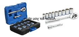 Kobalt 11-Piece Metric 3/8-in Drive 6-Point Socket Set with