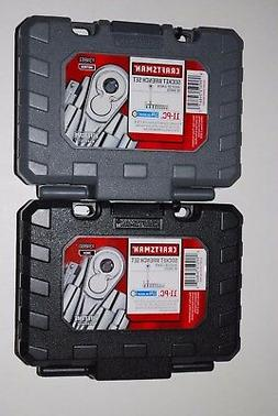 "New Craftsman 22-PC 6-pt 1/4"" Drive Inch/Metric Socket Wrenc"
