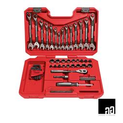 New Craftsman 56 PC Universal Mechanics Tool Set Socket Wren